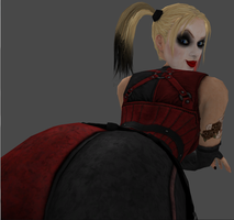 Harley Quinn's Booty by zoid162010