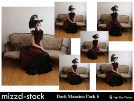 Dark Mansion Pack 6 by mizzd-stock