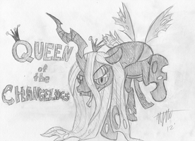 Chrysalis: Queen of the Changelings by LoosePopcorn