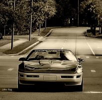what every Corvette owner wants, open road by Nutdeep