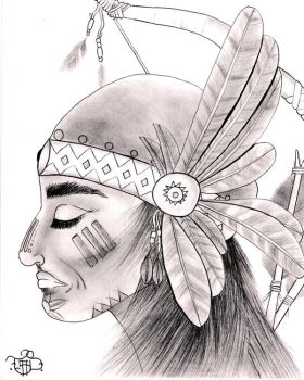 Native American by TSDelarm