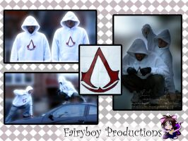 Assassin's Creed Hoodie by LunarFoxDesigns