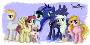 Luna and Sparks: New Series Coming 2015 by teammagix