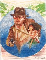 Indy and Marion by Soloboy5