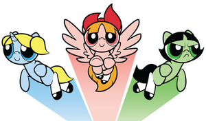 THE POWERPUFF PONIES by Faikie