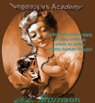the agency vs the academy, book cover by glzenfish