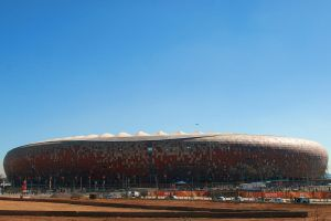World cup Soccer City outside by raxm