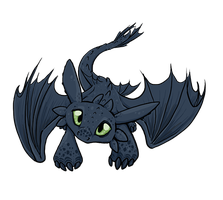 Night Fury Plz by BasiliskZero