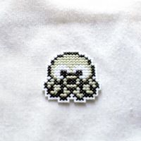 Cross Stitch Octopus Sprite by agorby00