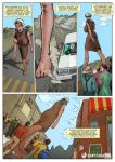 Small Town Giantess in the Big City by giantess-fan-comics