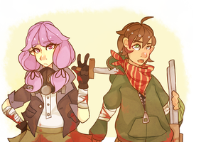 cool zombie hunters! by Twillywho