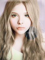 Chloe Grace Moretz Colorization by Calumnia