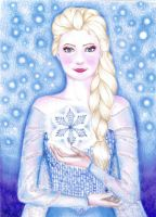 The Snow Queen by DreamyNaria