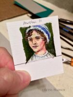 Minuscule Jane Austen II by Paintsmudger