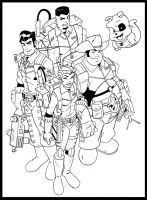 South Texas Ghostbusters by wonderfully-twisted