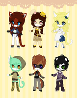 Adoptable Batch #1 CLOSED by Attack-On-Adopts