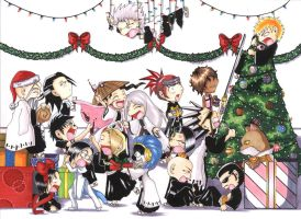 BLEACH - Merry Christmas by VeeBunny