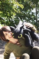 Hiccup and Toothless by Marieeve15