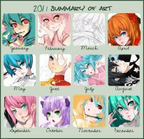 2011 Art Summary by Phoonty
