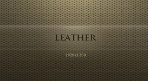 Leather by aquaking