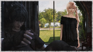 Noctis And Serah : Together by RogueVincent