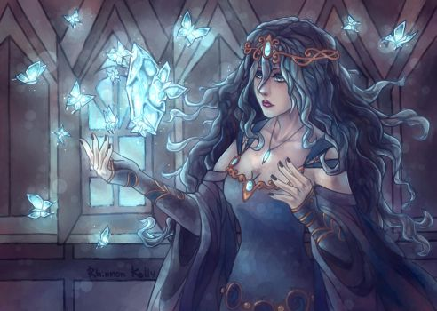 Frozen witchcraft [AT] by RhinnonKelly