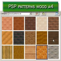 psp patterns wood a4 by feniksas4
