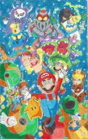 Super Mario 3D Galaxy Fanfic-poster by Blockdasher91