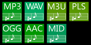 Subte icons for audio files by diegoba