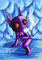 Sableye for ArcticFoxKit by Ericanii