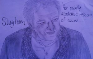 Slughorn by art-is-an-expression
