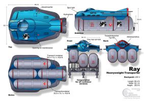 Submarine Ray-Class by Paul-Muad-Dib