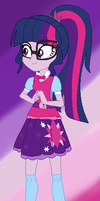 Canterlot High: Sci-Twi by Ecoster1268