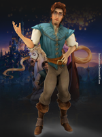 Flynn Rider - Tangled by JhonyHebert