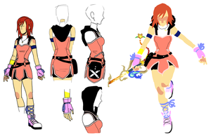 Kairi redesign by blahzilla