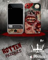 Rotten Patches 4 Iphone by corArze