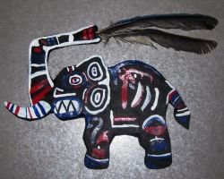 Elephant Totem by AnnieHoppe