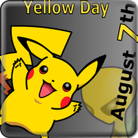 Pikachu likes the yellow day by danielsemper