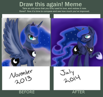 Draw This Again Meme! by CartoonOwl