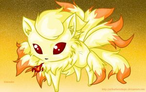 NineTales Chibi by JayFeatherIshEpic