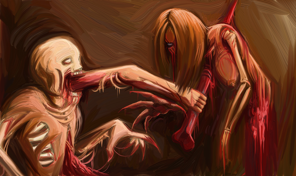 Gutted and Rotten (entrails) by Muthafknbadass