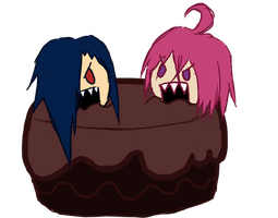 Evil Cake by Lexial-XIII