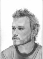 Heath Ledger by gyufyka