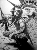 Snake Plissken by Xpendable