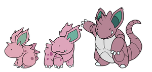 Nidoran to Nidoking by HappyCrumble