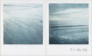 blue silver sea by prismopola