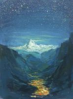 Distant place by flyYZ