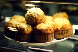Starbucks muffins by shmnk