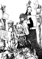 TV People -incomplete- by buta0309