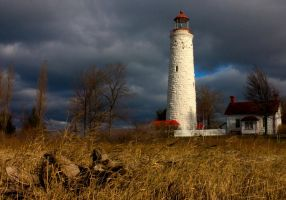 Point Clark Lighthouse 2 by GreyVolk
